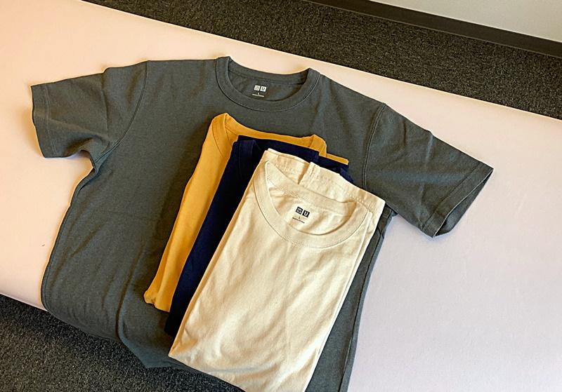 着替えのTシャツをあたらしくしました